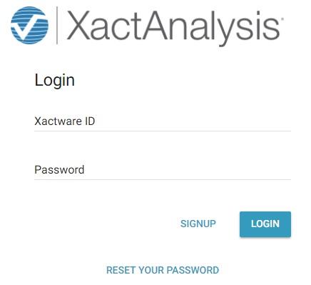 xactanalysis login
