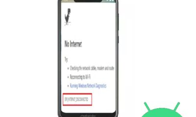 err_internet_disconnected Android