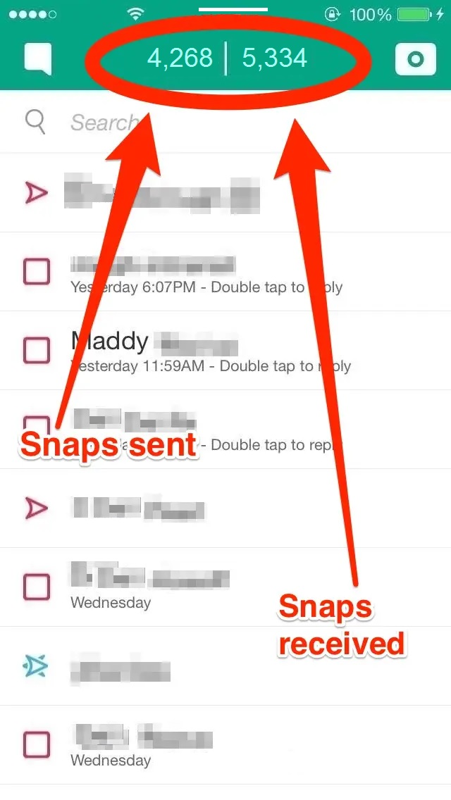 snapchat score meaning
