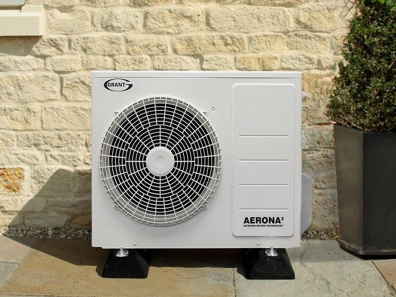 heat pump grant apply
